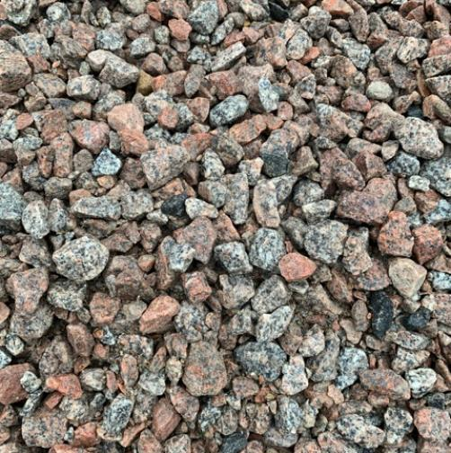 Granite Stone - 20mm Our Granite Stone is ideal for driveways, paths, drainage, etc and is available in 20mm.