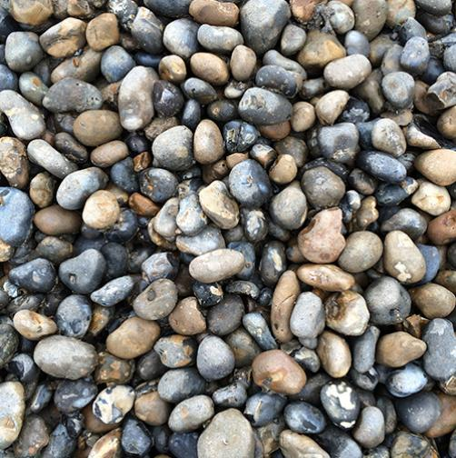 Pebbles 30mm-80mm Our 30mm-80mm are ideal for driveways, paths, etc. Supplied in bulk bag 0.6 cu