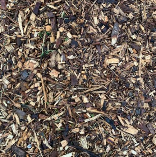 Woodchip Mulch Woodchip mulch is a low cost weed surpressant, ideal for flower beds and borders.